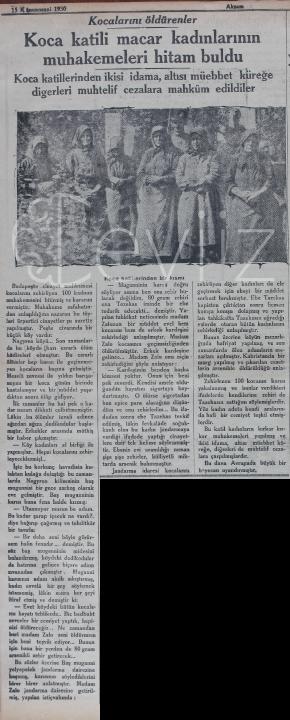 15 Ocak 1930 Akşam Gazetesi - Ceviiz.com